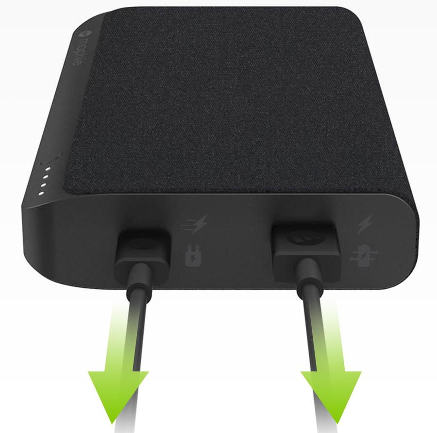 Pin Sạc Dự Phòng Mophie 19500mAh Powerstation USB-C XXL - Hàng Chính Hãng