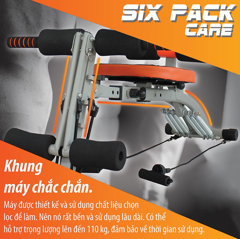 Máy Tập Cơ Bụng Đa Năng Cải Tiến Six Pack Care BG