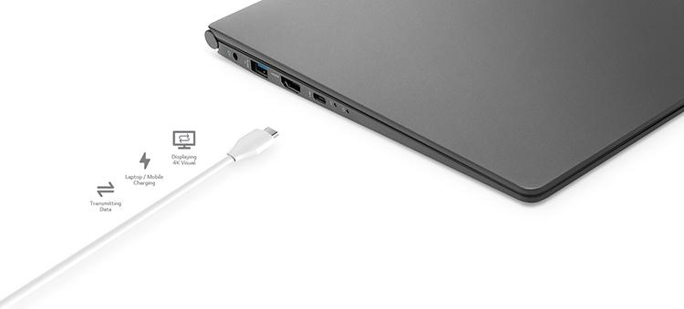 Laptop LG Gram 2018 14Z980-G AH52A5 Core i5-8250U / Win10 (14 inches) – Hàng Chính Hãng - Silver