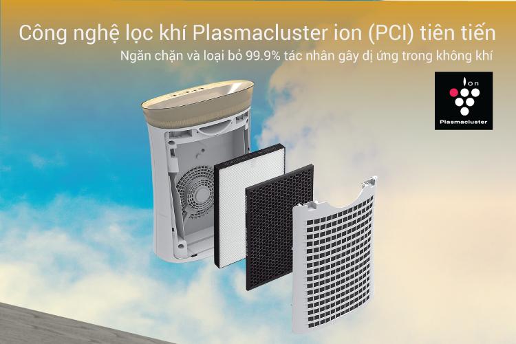 Máy Tạo Ion Và Lọc Không Khí Sharp FP-G50E-W - Trắng