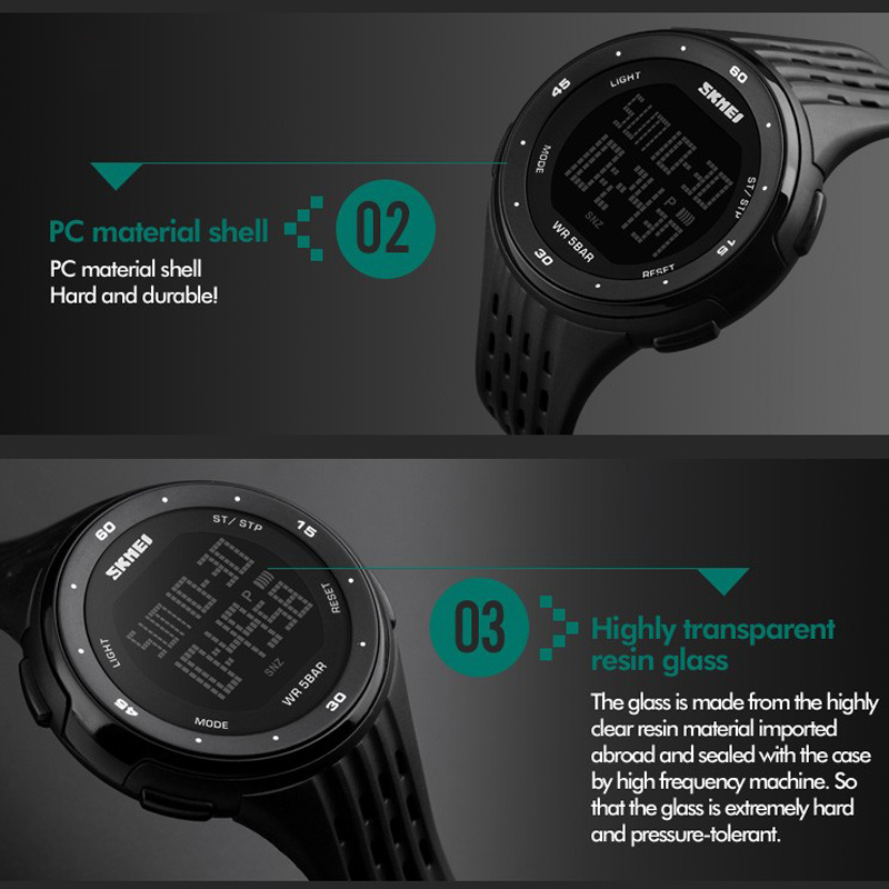 Đồng hồ Nam thể  thao SKMEI 1219 - DHA517