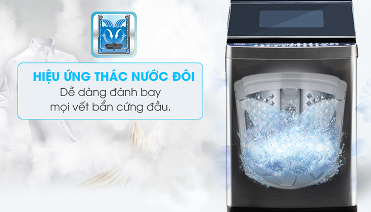 Máy Giặt Cửa Trên Inverter Toshiba AW-DUG1600WV-SK (15kg)