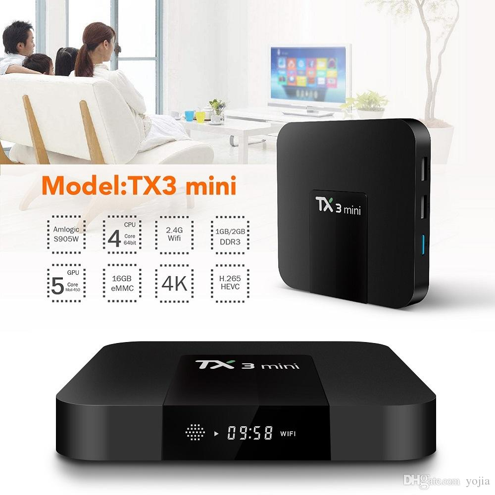 Andoid tivibox TX3 Mini Ram 2GB - ROM 16GB