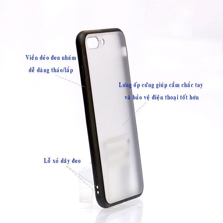 Ốp lưng viền TPU cao cấp cho Iphone 7 Plus - Student Paints