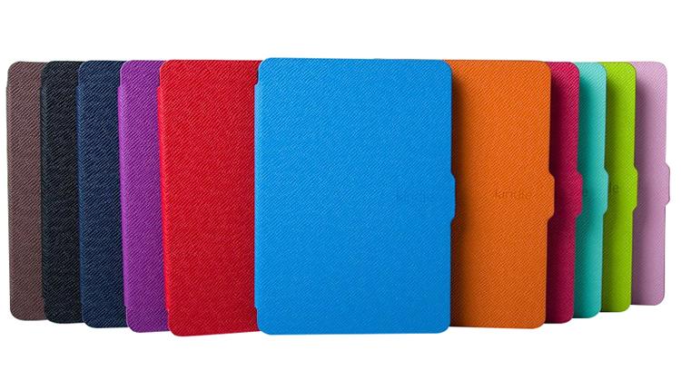 Bao Da Máy Đọc Sách Kindle Paperwhite - Mẫu Trơn (Đen)