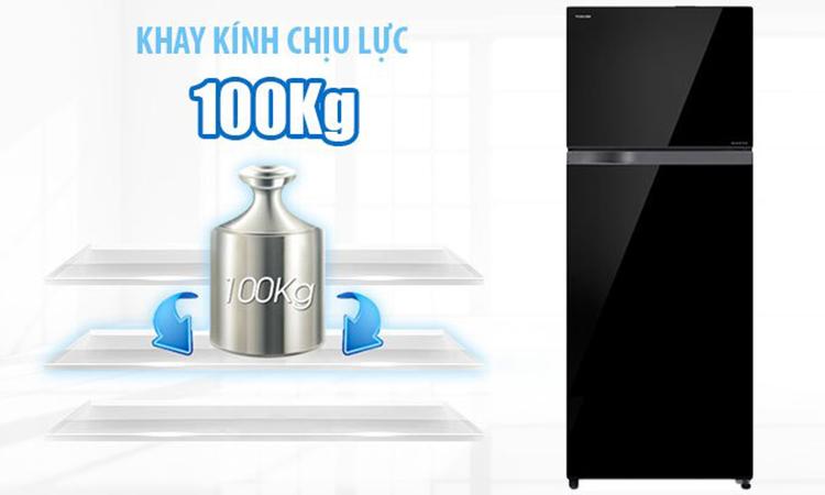 Tủ Lạnh Inverter Toshiba GR-AG46VPDZ-XK (409L)