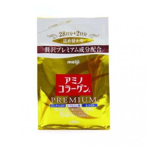 Bột Amino Collage Premium Meiji cao cấp Nhật Bản 214g