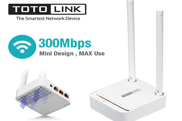Bộ Phát Wifi TotoLink N200RE-V3 - Chuẩn N Tốc Độ 300Mbps - Hàng ...