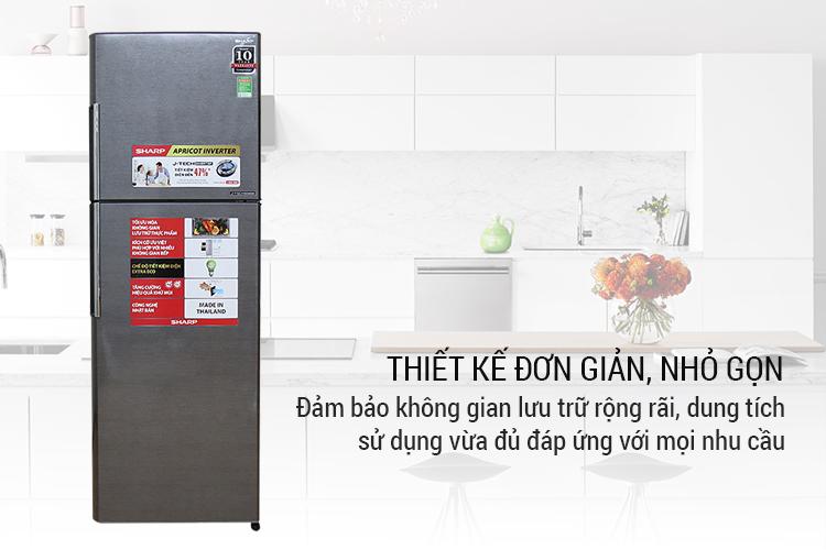 Tủ Lạnh Inverter Sharp SJ-X346E-DS (315L)-Hàng Chính Hãng = 6.299.000đ