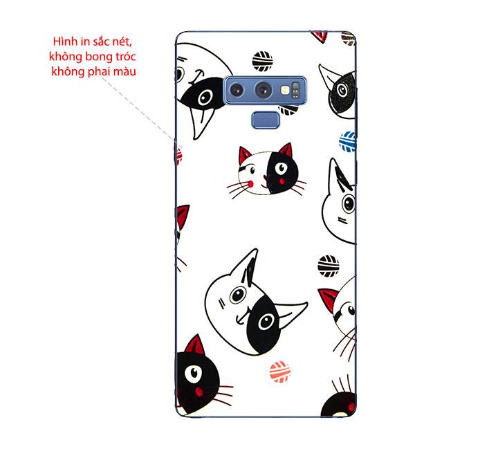 Ốp Lưng Dẻo Cho Điện thoại Samsung Galaxy Note 9 - Kute Cat 02