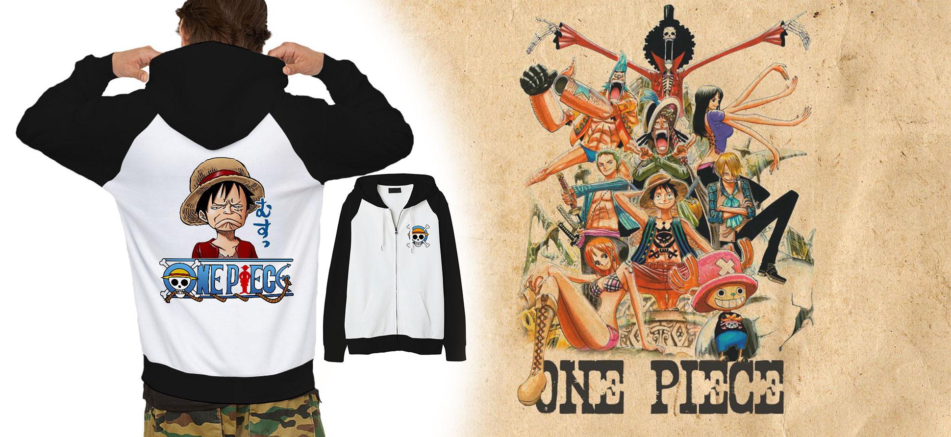 Áo Khoác Luffy One Piece Hài Hước