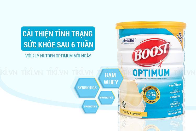 Sản Phẩm Dinh Dưỡng Nestle Boost Optimum (800g)