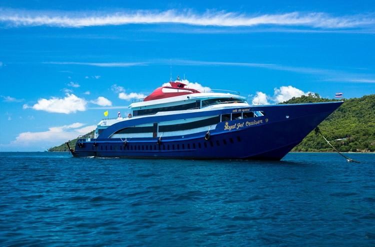 Tour Phuket - Đảo Phi Phi 4N3Đ Thái Lan - Du Thuyền Royal Jet Cruise, Khởi Hành Hàng Tuần