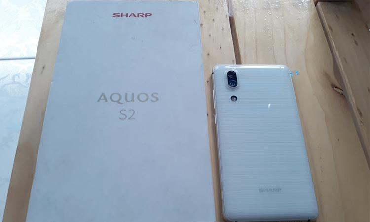 Điện Thoại Sharp AQUOS S2 - Hàng Chính Hãng - Xanh