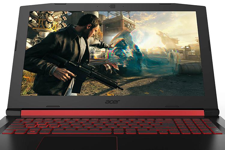 Laptop Acer Nitro 5 AN515-51-51UM NH.Q2RSV.003 Core i5-7300HQ/Free Dos (15.6 inch) - Black - Hàng Chính Hãng