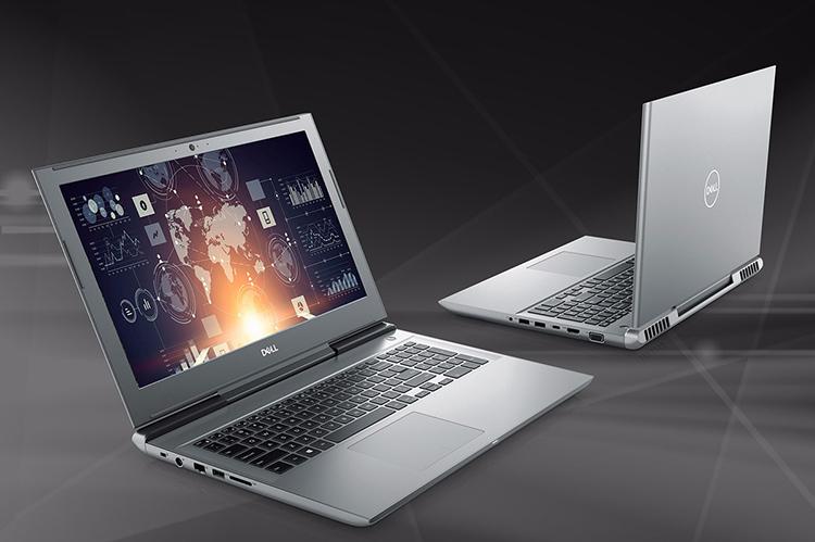 Laptop Dell Vostro 7570 70138566 Core i7-7700HQ/ Win 10 (15.6 inch) - Xám - Hàng Chính Hãng