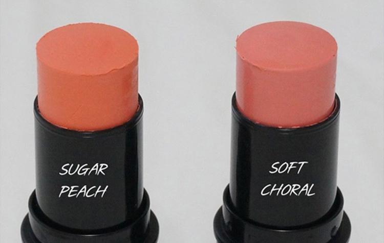 Kem Má Hồng Skinaz Stick Blusher (#2 Soft Coral)