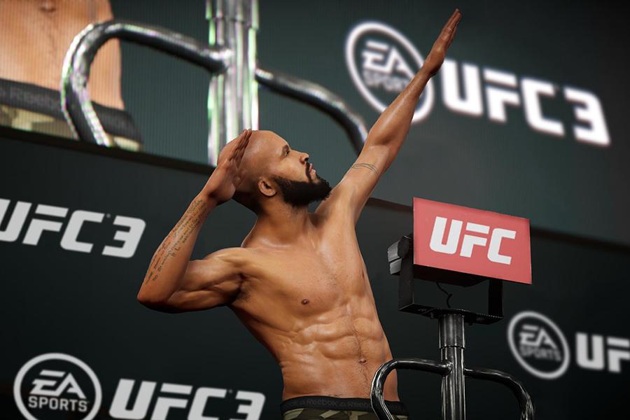 Đĩa Game PlayStation PS4 Sony EA Sports UFC 3 Hệ US