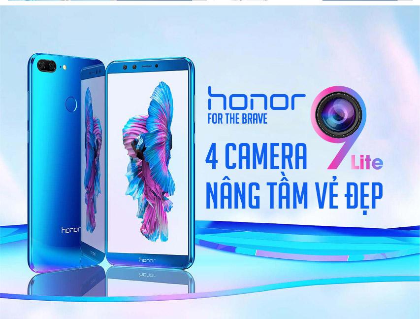 """Điện Thoại Honor 9 Lite 32GB/3GB 4 Camera, 5.65"""" FHD+ - Hàng Chính Hãng"""
