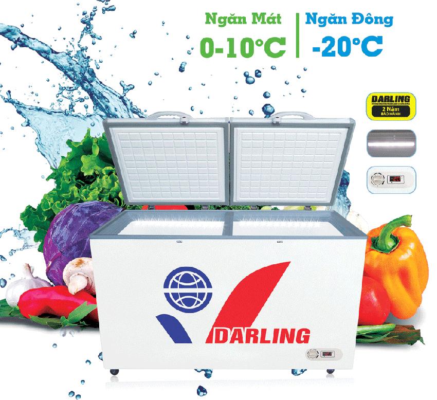 Tủ đông 1 ngăn Darling ống nhôm DFM - 4699WXL 1