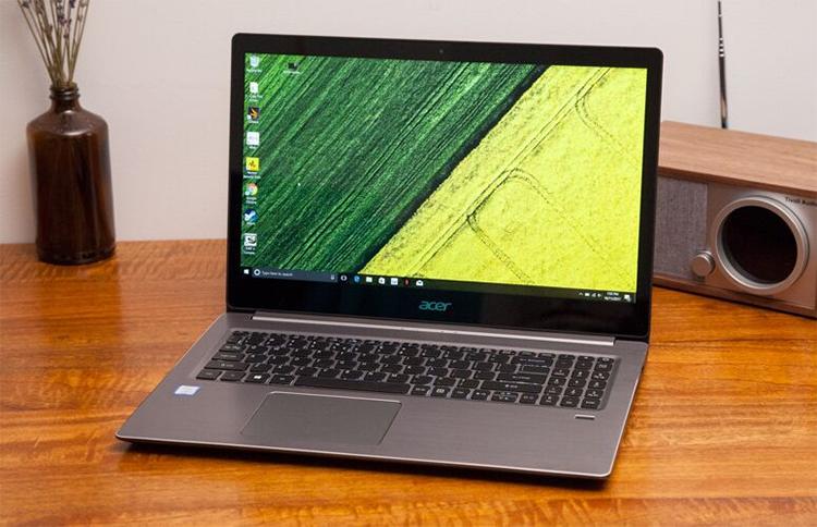 Laptop Acer Swift 3 SF314-52-39CV NX.GNUSV.007 Core i3-7130U/Win10 (14 inch) - Silver - Hàng Chính Hãng