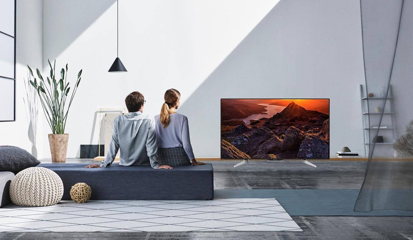 Internet Tivi Sharp 50 inch 4K UHD LC-50UA440X - Hàng Chính Hãng 1