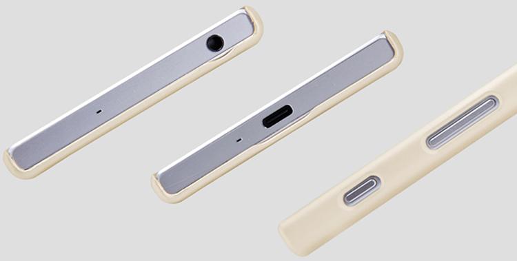 Ốp Lưng Sần Chống Sốc Nillkin Cho Sony Xperia Xz / Sony Xperia Xzs - Hàng Chính Hãng