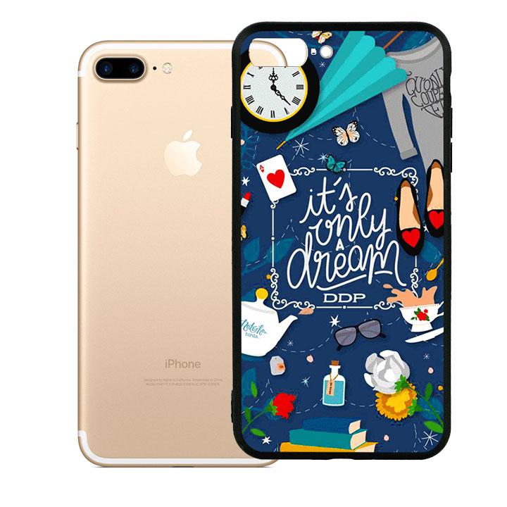 Ốp lưng viền TPU cao cấp cho Iphone 7 Plus - Dream Girl 02