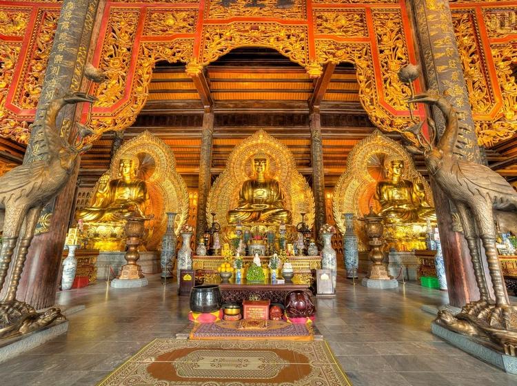 Tour Hà Nội - Bái Đính - Tràng An 1 Ngày, Khởi Hành Hàng Ngày