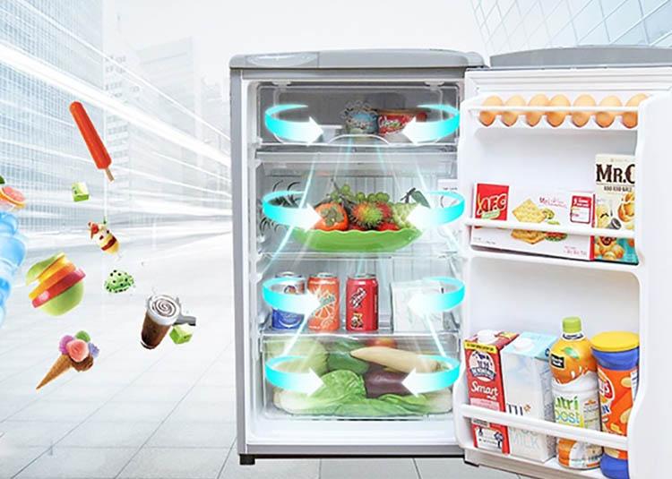 Tủ Lạnh Mini Aqua AQR-55ER-SS (50L)