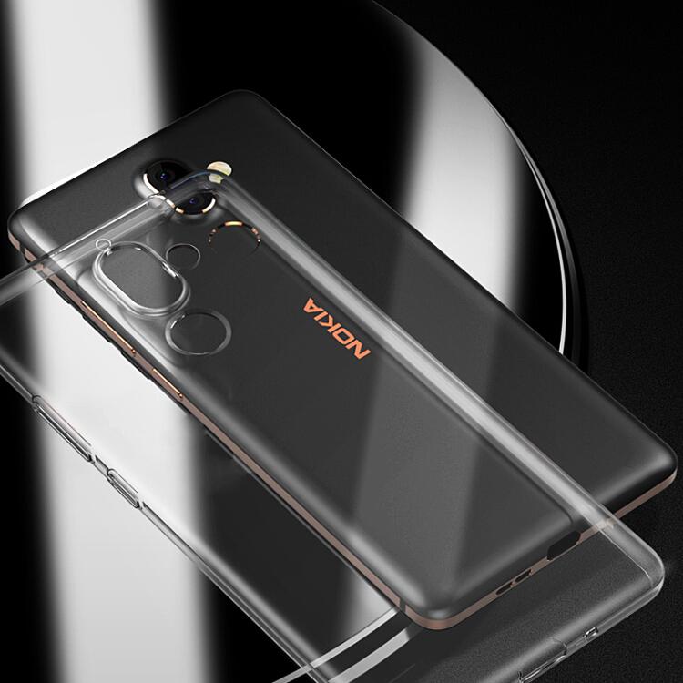 Ốp Lưng Bằng Silicon Trong Suốt Cho Điện Thoại Nokia 7plus Koolife
