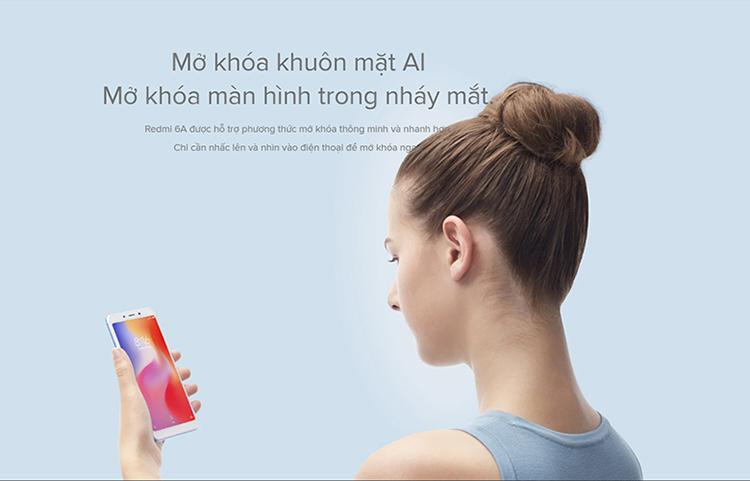 Điện Thoại Xiaomi Redmi 6A - Hàng Chính Hãng