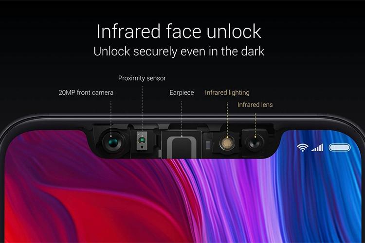Điện Thoại Xiaomi Mi 8 (6/128) - Hàng Chính Hãng DGW