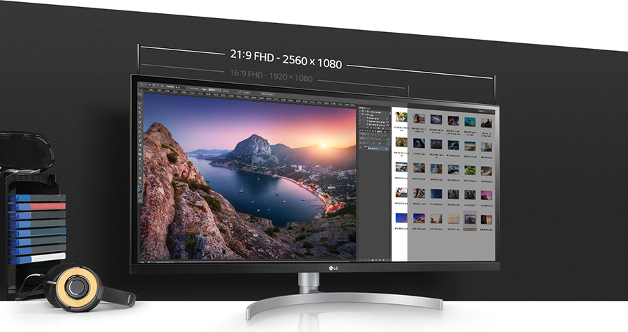 Màn Hình Gaming LG 29WK600-W UltraWide 29inch WFHD 5ms 75Hz FreeSync IPS Speaker - Hàng Chính Hãng