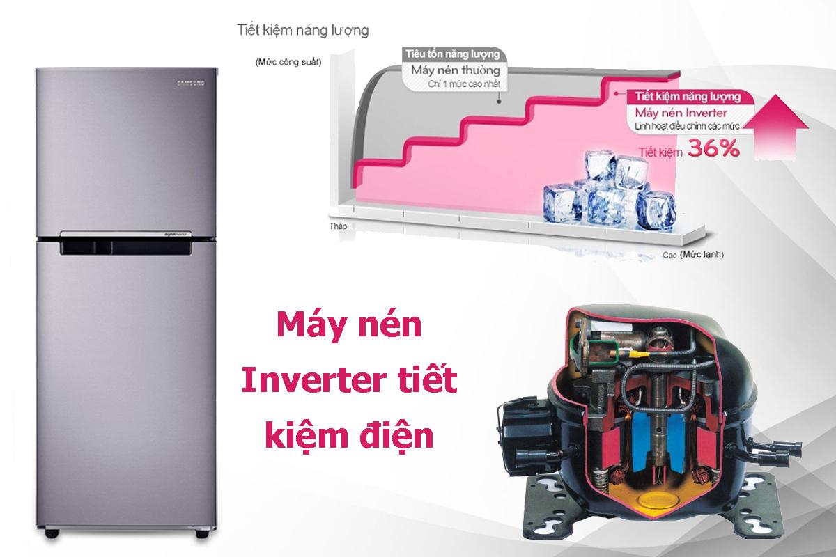 Tủ Lạnh Inverter Samsung RT20HAR8DSA/SV (203L) - Hàng chính hãng = 4.659.000đ