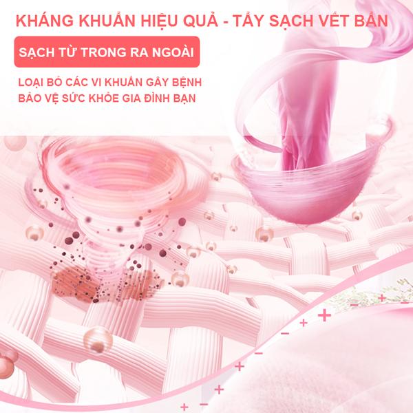 Combo 03 túi nước giặt kháng khuẩn Mao Bao 1800g