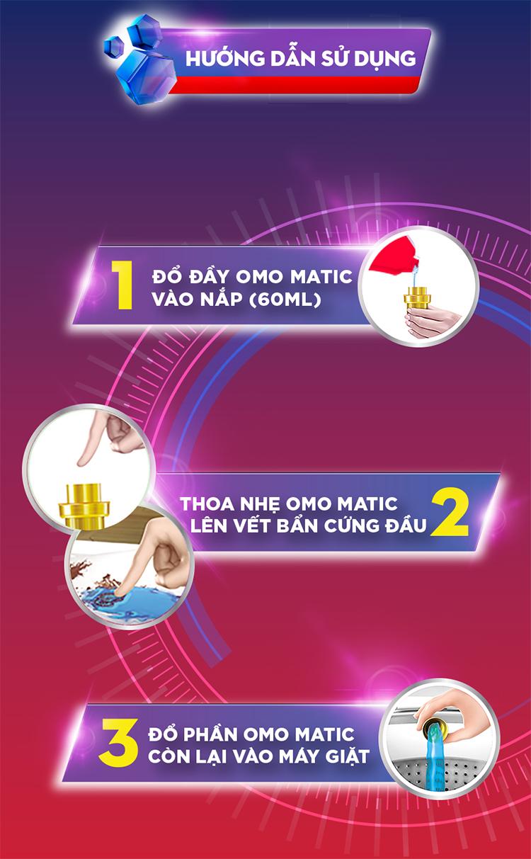 Nước Giặt  OMO Cho Máy Giặt Cửa Trên (4.2kg) - 21122477