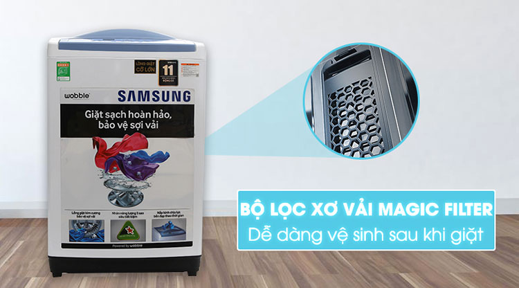 Máy Giặt Cửa Trên Samsung WA85M5120SW/SV (8.5kg) - Trắng