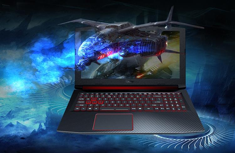 Laptop Acer Nitro 5 AN515-52-51LW NH.Q3LSV.002 Core i5-8300H/Free Dos (15.6 inch) - Black - Hàng Chính Hãng
