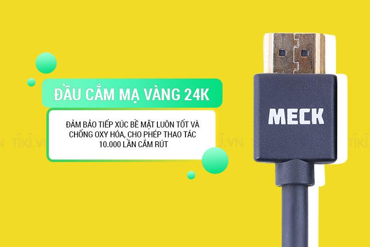 Dây Cáp HDMI 2.0 MECK (1m)
