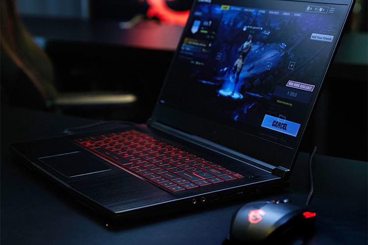 Laptop Gaming MSI GF63 8RD-221VN Core i7-8750H/Win10 (15.6 inch) (Black) - Hàng Chính Hãng