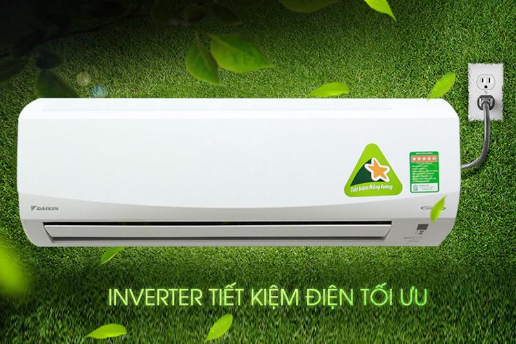 Máy Lạnh Inverter Daikin FTKQ25SVMV/RKQ25SVMV (1HP)