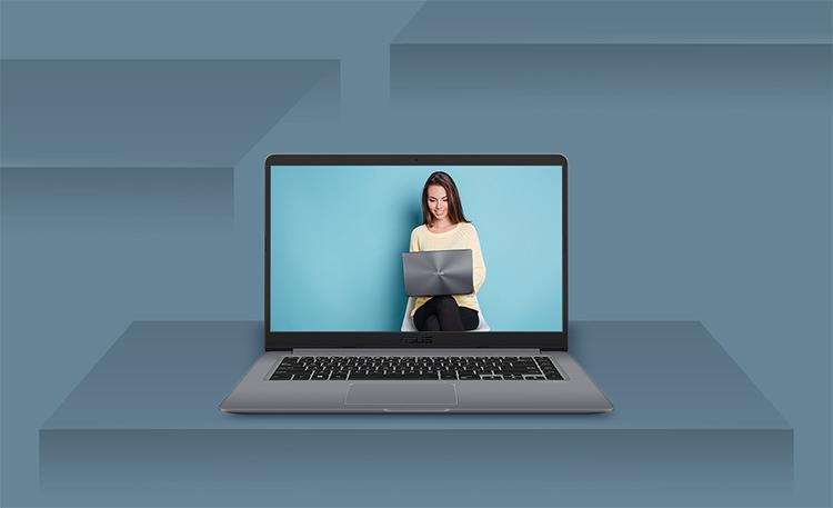 Laptop Asus Vivobook A411UA-EB447T Core i3-7100U/Win10 (14.1 inch) - Gold - Hàng Chính Hãng