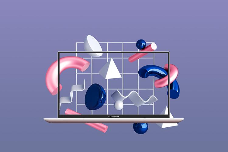 Laptop Asus Vivobook S13 S330UA-EY008T Core i3-8130U/Win10 (13.3 inch) (Pink) - Hàng Chính Hãng