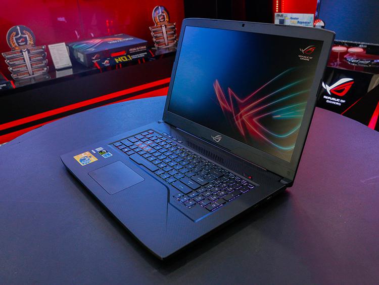 Laptop Gaming Asus ROG Strix SCAR GL703GS-E5011T Core i7-8750H/Win10 (17.3 inch) - Gunmetal Aluminum - Hàng Chính Hãng