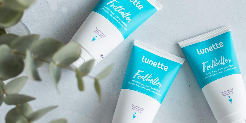 Nước vệ sinh cốc nguyệt san Lunette Feelbetter chuyên dụng dành riêng cho cốc sillicone