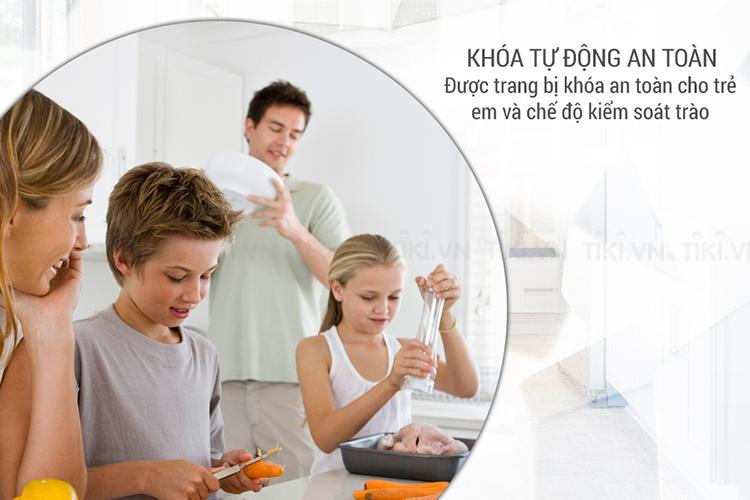 Bếp Đôi Kết Hợp Goldsun GIR2-721T* (3900W) - Đen