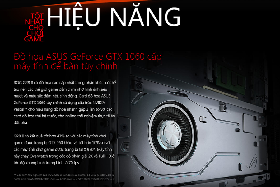 PC Asus ROG GR8 II Core i7-7700/GTX 1060 6GB/FreeDos - Hàng
