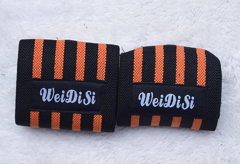 Bộ 2 băng quấn bảo vệ cổ tay tập gym Weidisi cao cấp-Màu ngẫu nhiên