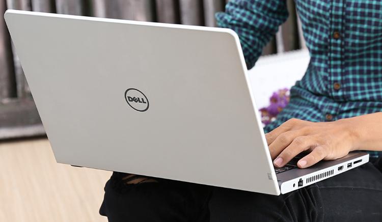 Laptop Dell Inspiron N5468 K5CDP11 Core i5-7200U/Win10 (14.1 inch) - Silver - Hàng Chính Hãng